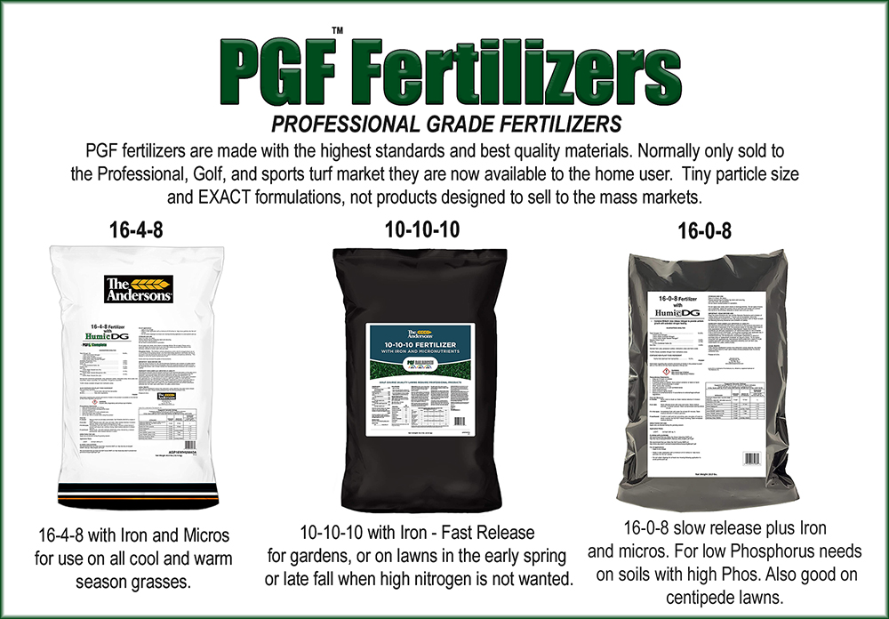pgf fertilizers for lawns and garden